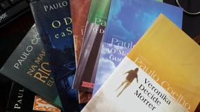 Lote Com 10 Livros Paulo Coelho - P/ Leitura, Bibliotecas