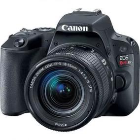 Câmera Canon Rebel Sl2 Com Lente Ef-s 18-200mm F/3.5-5.6 Is