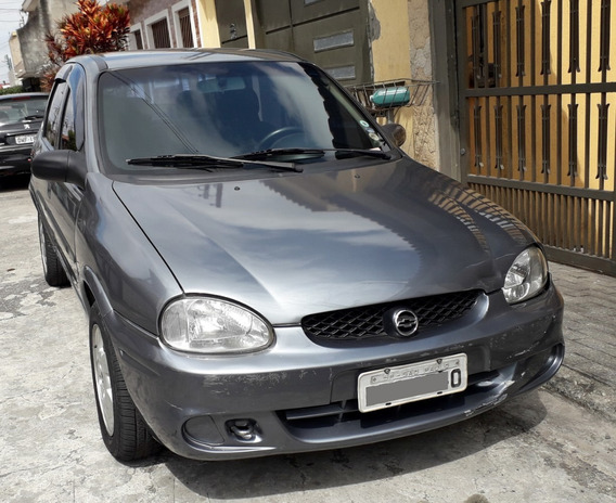 Corsa Sedan Super 1.6 Mpfi 8v 5p - 2001 - Completo