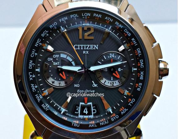 Incrível Relógio Citizen H950 Satellit Wave Cc1090-61e Top