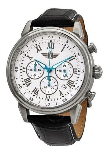 Relógio Invicta Quartz Branco Couro Modelo Ibi90242-002