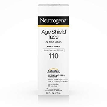 Neutrogena Age Shield Face Spf 110 Protetor Solar 88ml