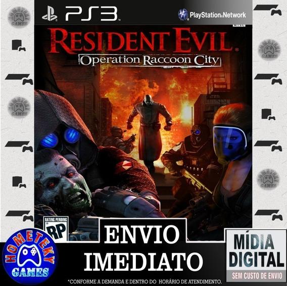 Resident Evil Operation Raccoon City - Psn Ps3