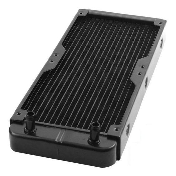 Radiador Watercooling 240mm Aluminio Racores 1/4 Id-cooling