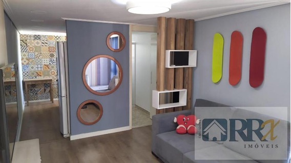 Apartamento Mobiliado Para Venda Em Suzano, Parque Santa Rosa, 2 Dormitórios, 1 Banheiro, 1 Vaga - 257_2-984397