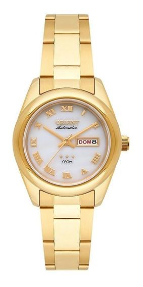 Relogio Feminino Orient Automatico Elegance Dourado 559gp009