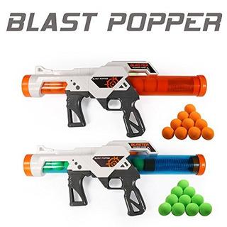 Ejercicio N Play 2 Pcs Power Popper Gun Dual Battle Pack Foa