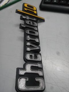 Insignias Chevrolet Pick Up Brava C10 (juego)