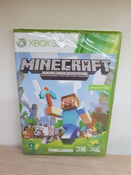 Minecraft Xbox 360 Edition Novo Lacrado Totalmente Português