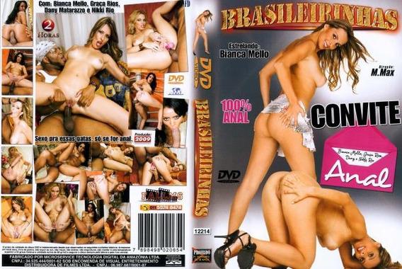Dvd Brasileirinhas Convite Anal