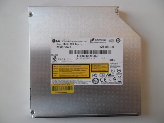 Gravador De Dvd Para Notebook Sata Lg Gt32n