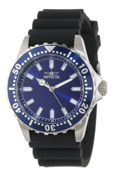 Reloj Invicta Pro Diver Acero Inoxidable, Caucho Negro 15142