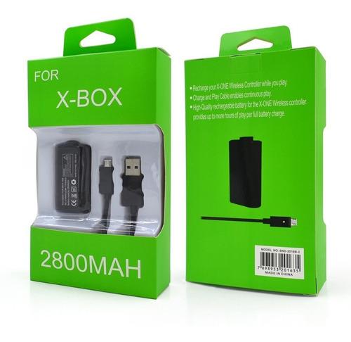 Imagen 1 de 5 de Bateria Kit Carga Y Juega Xbox One Recargable