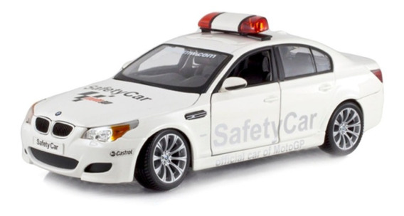 Miniatura Bmw M5 Safety Car Branco Maisto 1/18