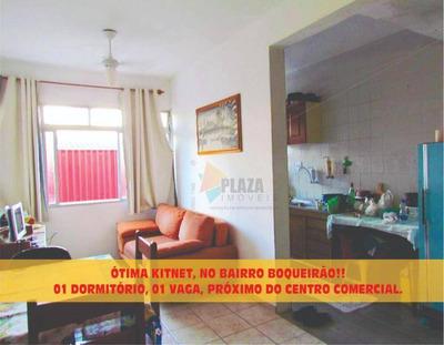 Kitnet Residencial À Venda, Boqueirão, Praia Grande. - Kn0253