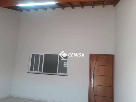 Casa Com 2 Dormitórios À Venda, 99 M² - Cardeal - Elias Fausto/sp - Ca1956