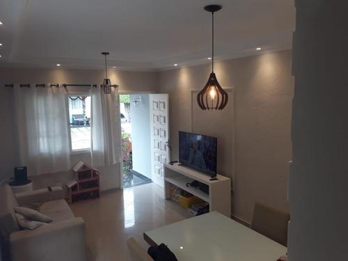 Sobrado Com 3 Dormitórios À Venda, 127 M² - Taboão - São Bernardo Do Campo/sp - So20440