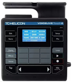 Tc Helicon Voicelive Touch 2 + Footswitch (pedal) + Fonte