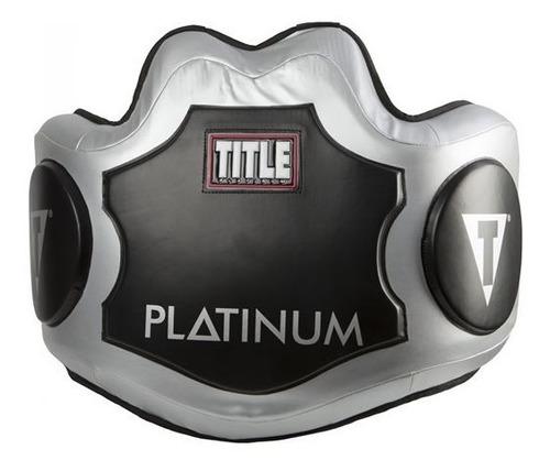 Peto De Boxeo Title Platinum Piel Palomares Fpx
