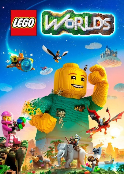 Lego: Worlds Pc Steam Key Global Português Código 15 Dígitos