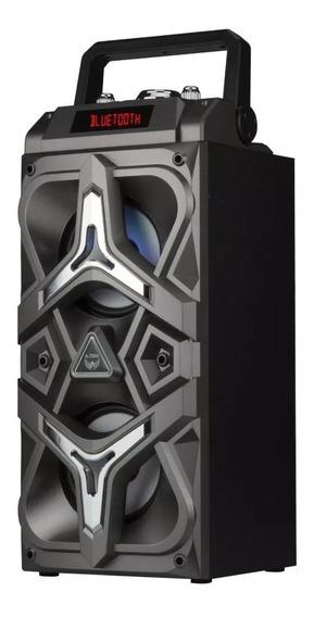 Caixa Música Som Bluetooth Mp3 Usb Amplificadora 20w Rms