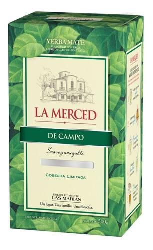 Imagen 1 de 1 de Yerba Mate La Merced De Campo 1/2 Kg.