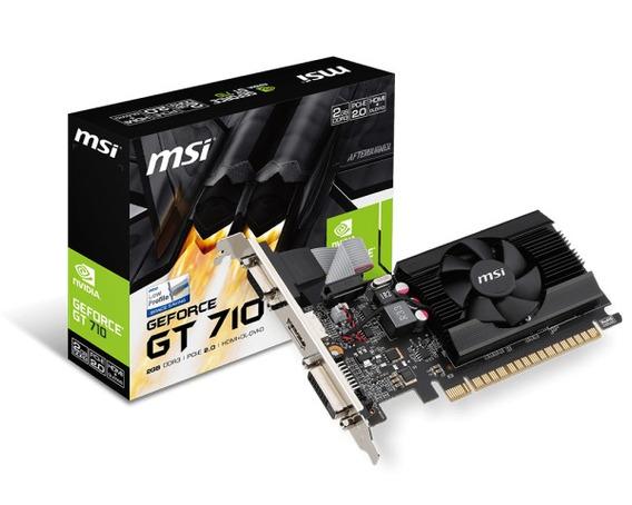 Video Msi Gt710 2gb Ddr3 Gt 710 Low Profile Hdmi Concooler
