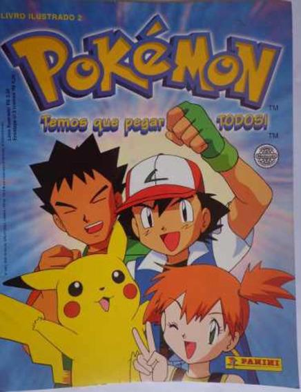 Figurinhas Álbum Pokémon 2