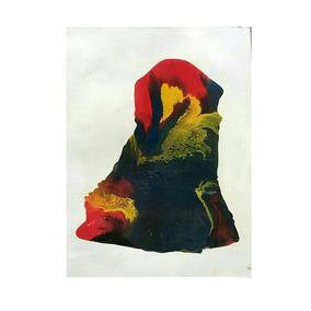 Lindo Quadro Em Pintura Abstrata Cód 004