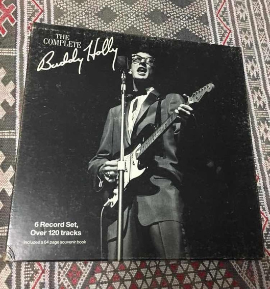 Buddy Holly - Caixa Com 6 Lps + Livreto