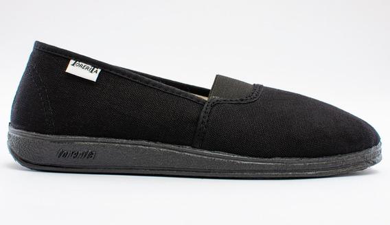 Zapatillas Torerita Elastizada Lona Dama C128