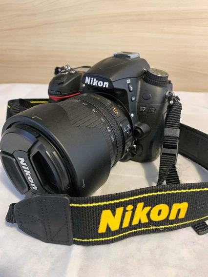 Câmera Profissional Nikon D7000 - Conservada 2478 Cliques