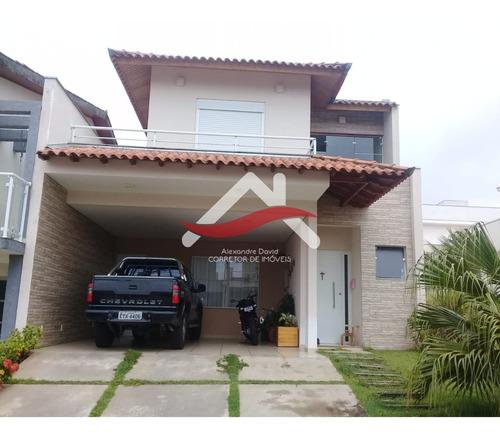 Imagem 1 de 23 de Vendo Lindo Sobrado Residencial Villagio Milano - Ca00102 - 69449257