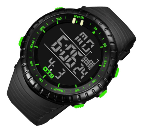 Relógio Masculino Ots 7005 Res Água P/v 12 Vezes