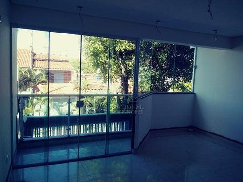 Cobertura Residencial À Venda, Jardim Itapoan, Santo André. - Co2711