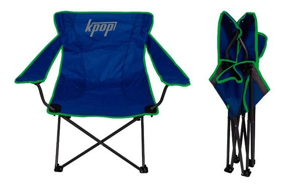 Silla Playera Plegable De Lona Camping Pequeña K-pop