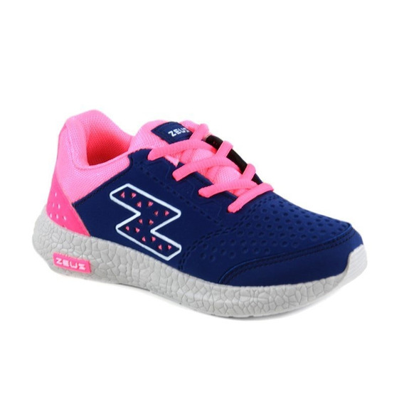 Tênis Zeus Gelo Marinho Pink - Lx-i