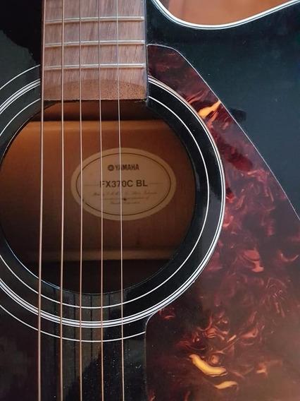 Guitarra Electroacustica Yamaha Fx370c Bl Con Funda