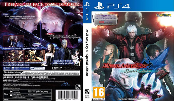 Devil May Cry 4 Special Edition Ps4 2ª Digital Psn