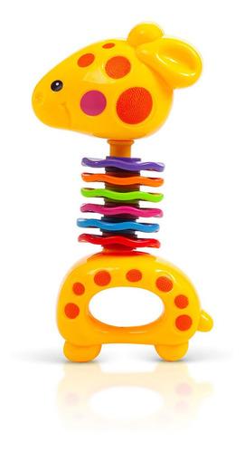 Mordedor Para Bebê Divertido Girafa - Lillo