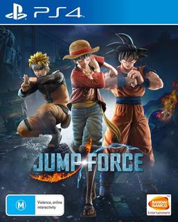 Jump Force Português Jogo De Combate Playstation 4