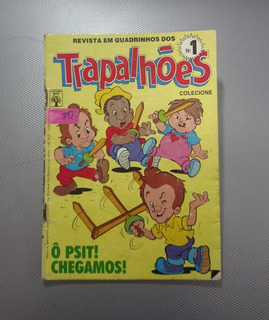 Hq Gibi Trapalhões N° 1 - Editora Abril - Janeiro 1988