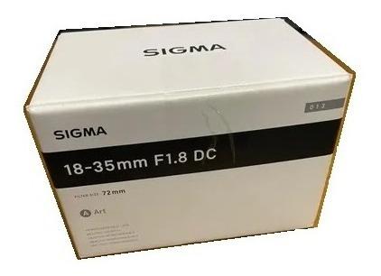 Imagem 1 de 2 de Lente Sigma For Nikon C/ Adaptador Para Sony