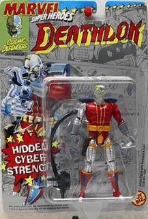 Toy Biz Marvel Super Heroes Deathlok Figura De Acción 4.75 P