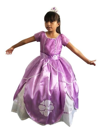 Vestido Sofía Princesa Talla 1 Y 2