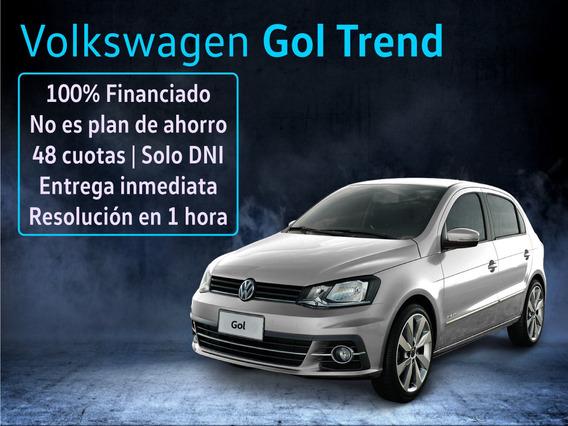 Volkswagen Gol Trend 0km Financio Tasa 0% Vw Tel 1159962463