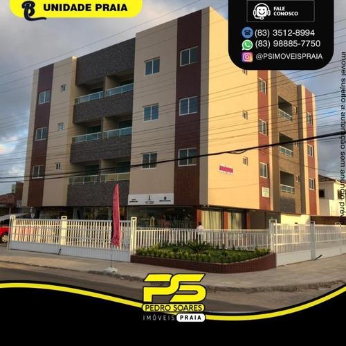 Imagem 1 de 7 de Apartamento Com 2 Dormitórios À Venda, 66 M² Por R$ 158.000 - João Paulo Ii - João Pessoa/pb - Ap4835