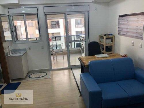 Imagem 1 de 20 de Apartamento, 40 M² - Venda Por R$ 477.000,00 Ou Aluguel Por R$ 2.850,00/mês - Jardim Aquarius - São José Dos Campos/sp - Ap0790