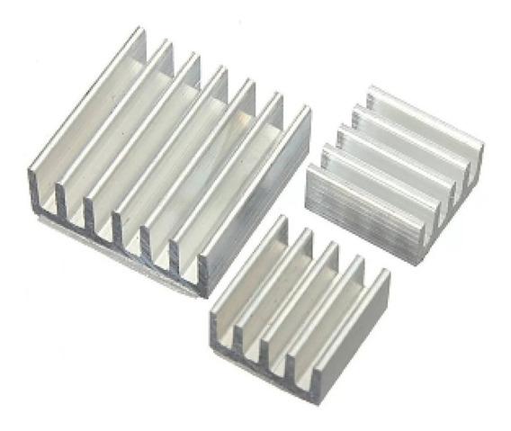 Kit 10x Dissipadores De Calor Para Raspberry Pi 3pi3 B E B+