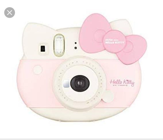 Câmera Instax Fujifilm Hello Kitty + Case Hello Kitty